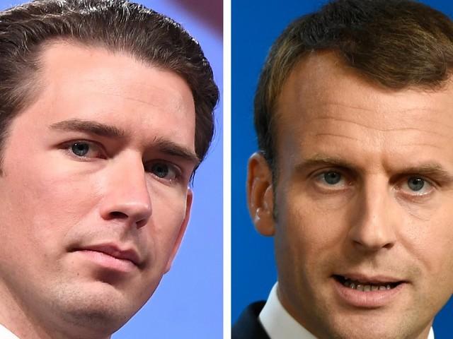 Pourquoi Macron reçoit Sebastian Kurz le chancelier autrichien, allié de l'extrême droite