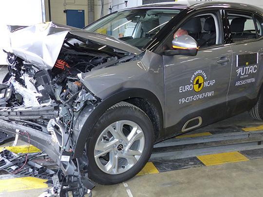 Citroën C5 Aircross : entre 4 et 5 étoiles aux tests de sécurité Euro NCAP