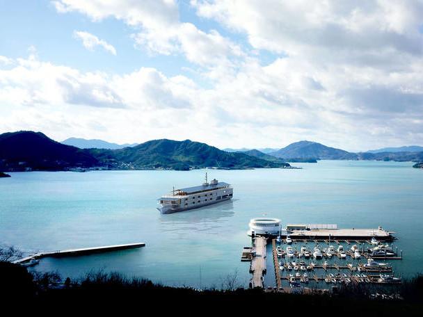 Luxury Floating Hotel of Japan's Seto Inland Sea