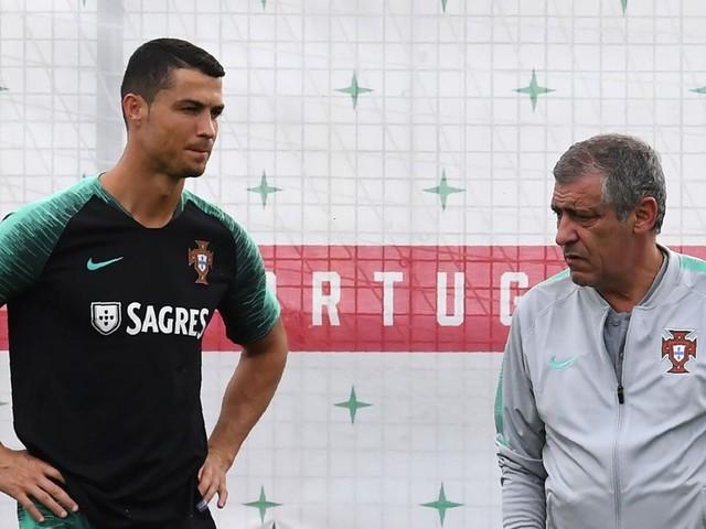 """Santos : """"Je ne suis jamais surpris par Cristiano"""""""