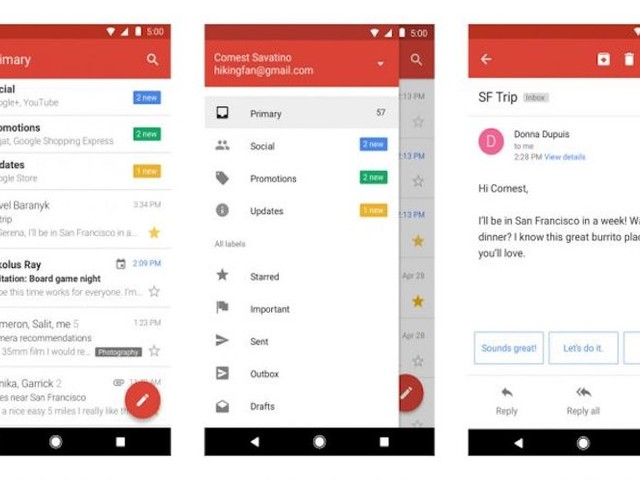 Google lance Gmail Go pour les smartphones peu performants
