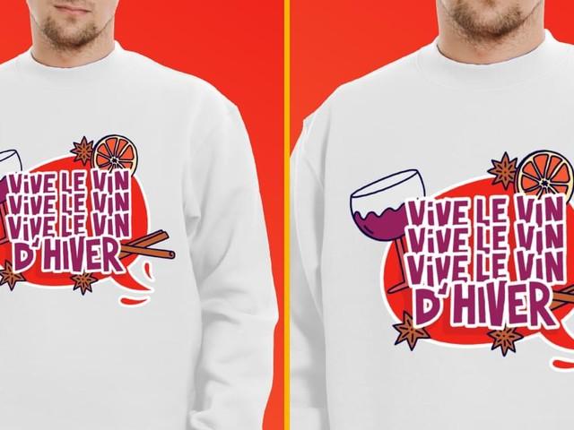 [TOPITRUC] Un pull «Vive le vin, vive le vin, vive le vin d'hiver», pour les amateurs de rouge