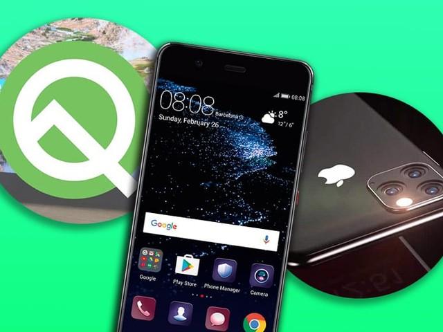 EMUI 9.1 arrive sur les Huawei P10, Android 10 Q est imminent, un chargeur USB-C inclus avec l'iPhone 11, le récap