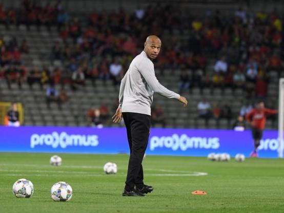 Foot - L1 - Monaco - À peine arrivé, Thierry Henry a observé les U19 de Monaco