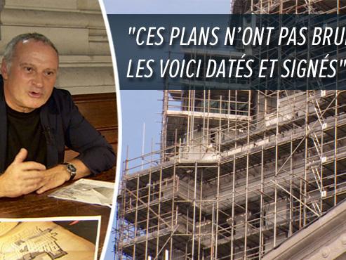 Rebondissement dans l'interminable chantier du palais de justice de Bruxelles: les plans d'origine que l'on pensait perdus ont été retrouvés (vidéo)