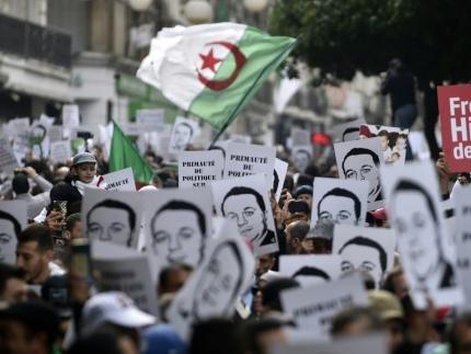 Début de manifestation timide à Alger pour le 45e vendredi de contestation