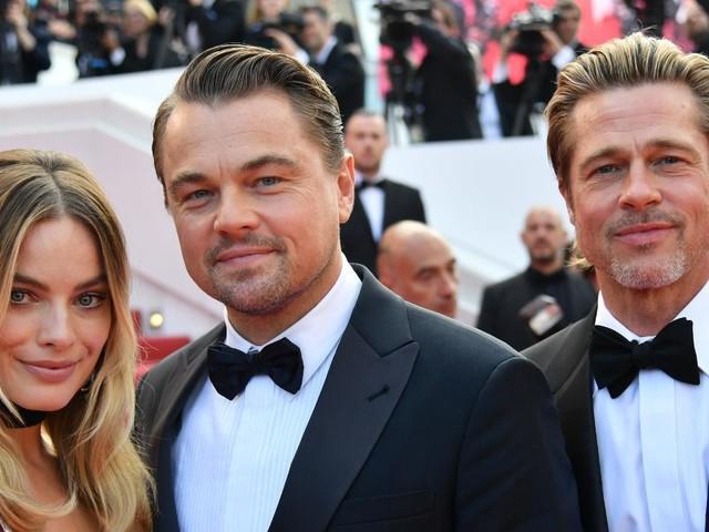 """VIDÉO - Leonardo DiCaprio, Margot Robbie, Brad Pitt... Ils ont électrisé les marches de """"Once Upon a Time in Hollywood"""""""