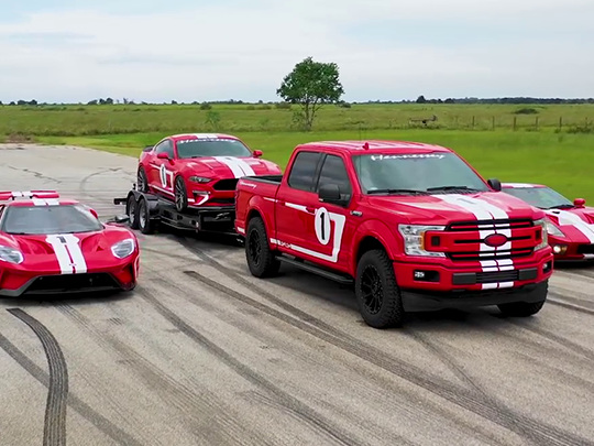 Hennessey Heritage Edition, Ford Mustang, Ford GT... une équipe de choc