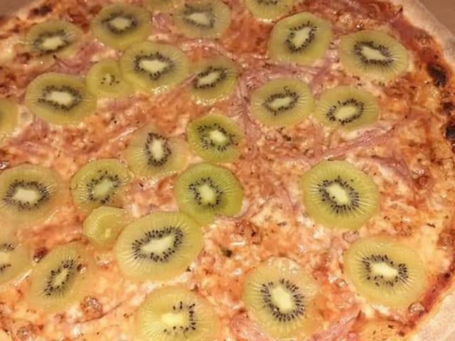 La pizza au kiwi offusque les Italiens