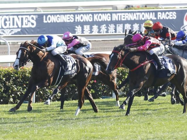 Glory Vase et Admire Mars ont été les stars du grand dimanche de Hong Kong