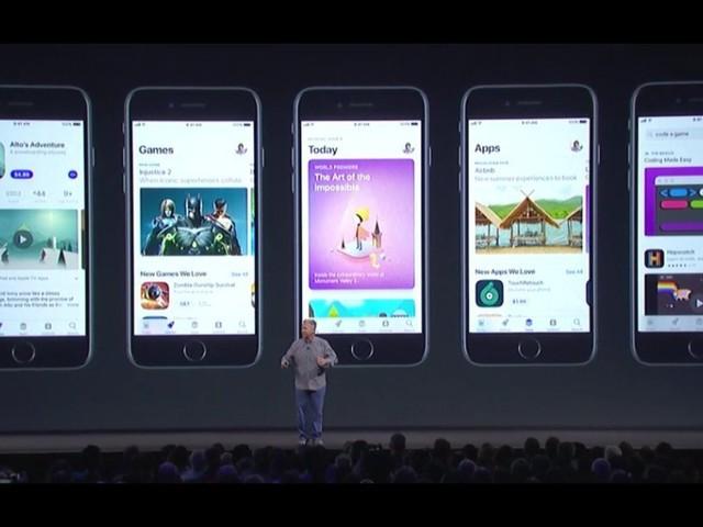 Keynote Apple: Les nouveautés de l'iOS 11, nouveau système d'exploitation iPhone et iPad