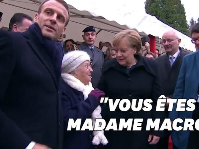 """""""Je suis chancelière Allemagne"""": cette centenaire a confondu Merkel avec... """"Mme Macron"""""""