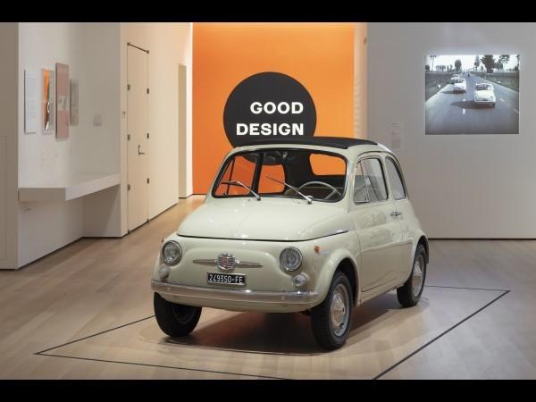 La Fiat 500 a pris place au MoMa de New York