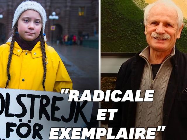 """Greta Thunberg, """"un miracle"""" selon Yann Arthus-Bertrand"""