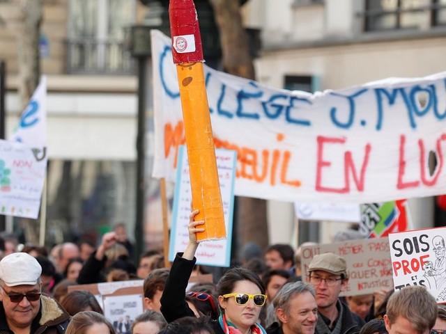 Grève à l'école: les enseignants ont tout à perdre avec la réforme des retraites