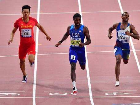Mondiaux d'athlétisme: Noah Lyles, c'est l'heure!