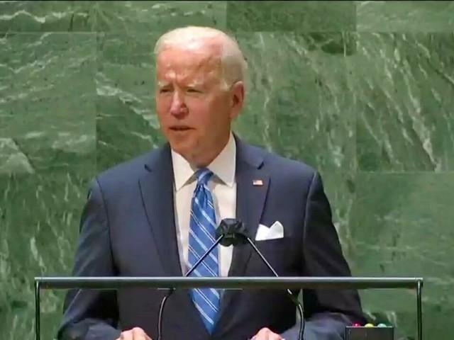 """Les États-Unis """"ne cherchent pas une nouvelle Guerre froide"""", dit Joe Biden à l'ONU"""