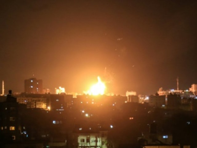 Gaza: Israël frappe 25 objectifs en riposte à des tirs de roquettes