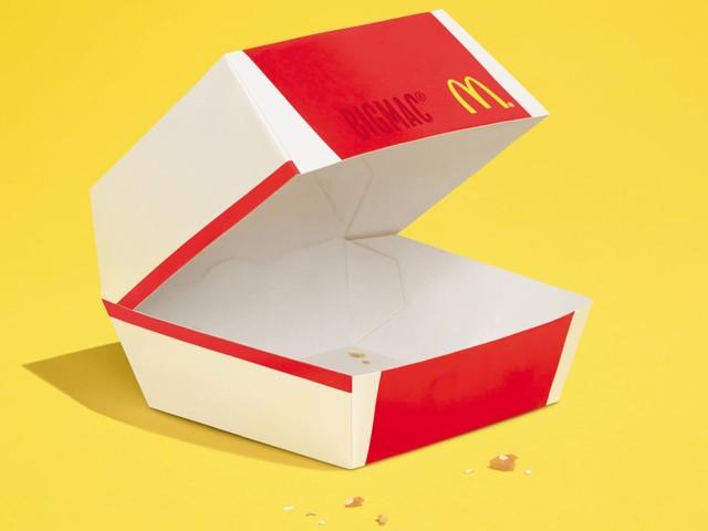 McDonald's a encore faim d'affiches minimalistes