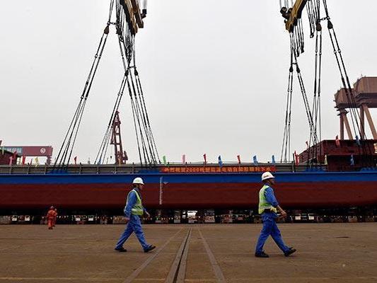 Avant la Norvège, la Chine lance un cargo électrique de 2000 tonnes