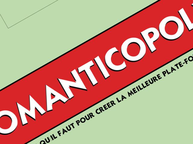"""Téléchargez et imprimez """"Romanticopoly"""", la version Films de Lover du Monopoly !"""