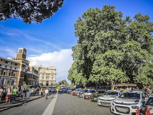 Le Rally di Roma Capitale en direct sur Facebook et ERC Radio