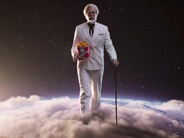 KFC lance un improbable Colonel Sanders en France