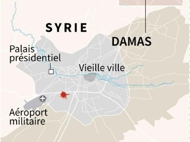 La Syrie en guerre secouée par deux attentats, dont un à Damas