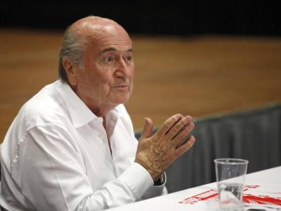 Foot - CM - Sepp Blatter veut un ticket britannique pour la Coupe du monde 2030