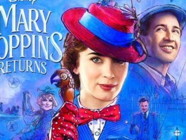"""Disney dévoile la bande-annonce magique du """"Retour de Mary Poppins"""""""