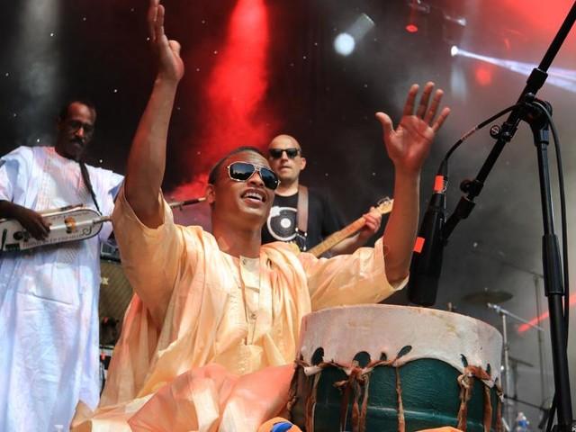 [Vidéo] Cheveu et Group Doueh à l'IMA pour la Fête de la musique