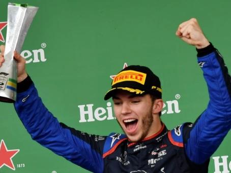 F1: premier podium pour Gasly au Brésil, pour conclure une année difficile