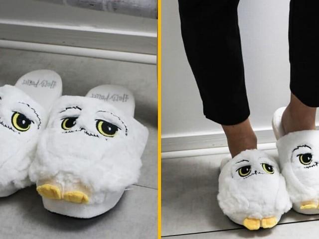 [TOPITRUC] Des chaussons Hedwige, la meilleure des chouettes