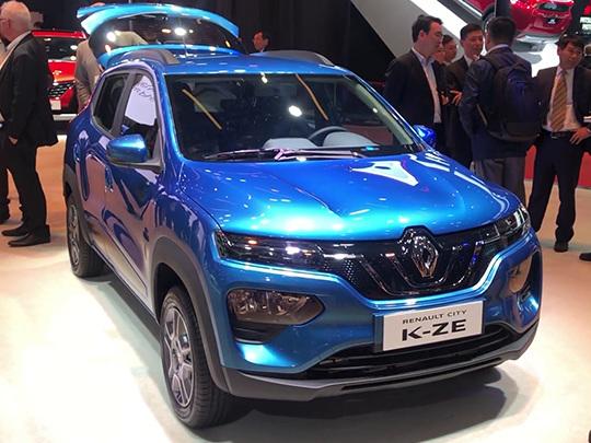 Présentation de la Renault City K-ZE, une voiture 100 % électrique