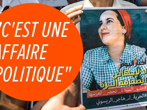 Hajar Raissouni, condamnée à 1 an de prison ferme au Maroc pour des relations sexuelles hors mariage et un avortement illégal