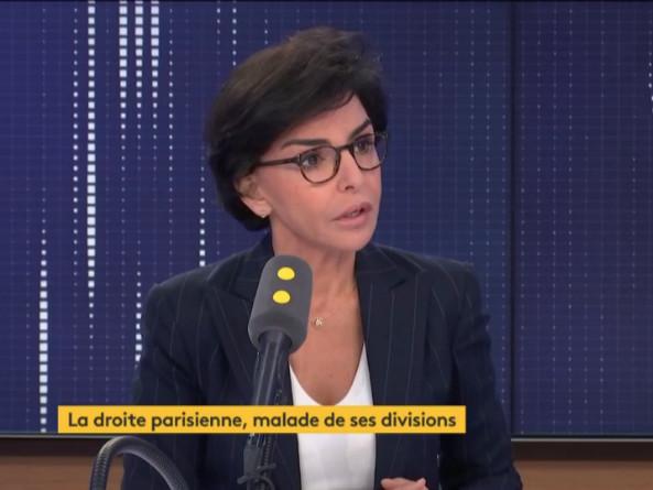 Municipales à Paris : l'interview café du commerce de Rachida Dati