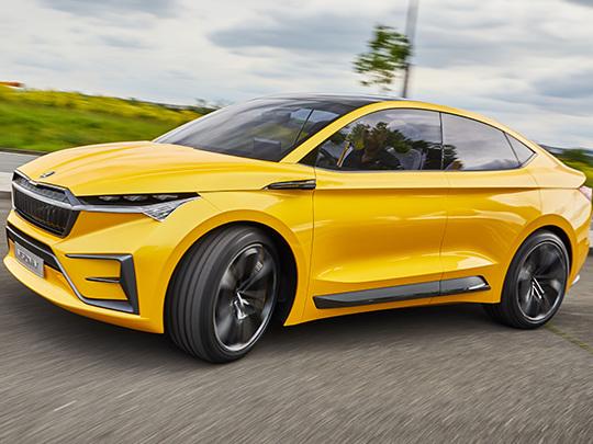Skoda Concept Vision iV : la voiture 100 % électrique de Skoda, c'est pour 2020