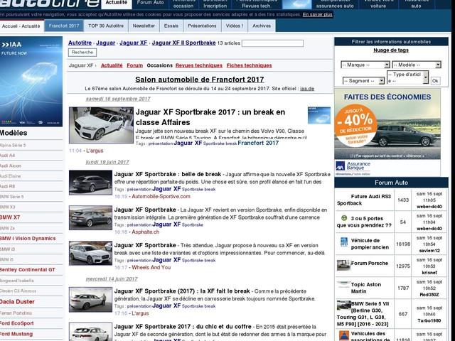 Jaguar XF Sportbrake 2017 : un break en classe Affaires