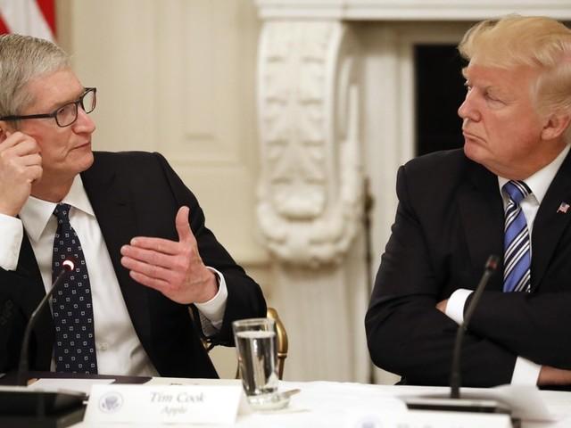 Donald Trump aime les appels de Tim Cook et veut l'aider pour les taxes douanières