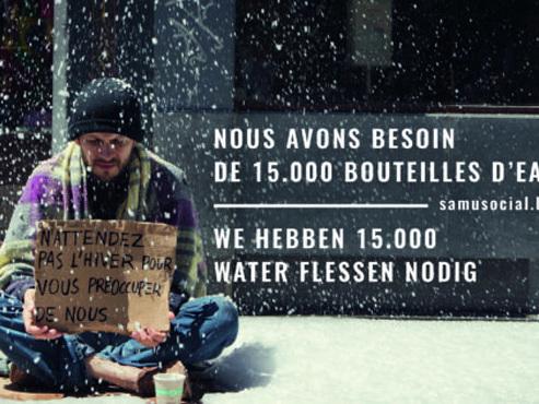 Le Samusocial a perdu 700.000€ de dons, et n'arrive même plus à offrir de l'eau aux sans-abris durant l'été...
