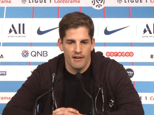 Moreno est plus satisfait «tactiquement» par la défaite contre le PSG que le match nul 3-3