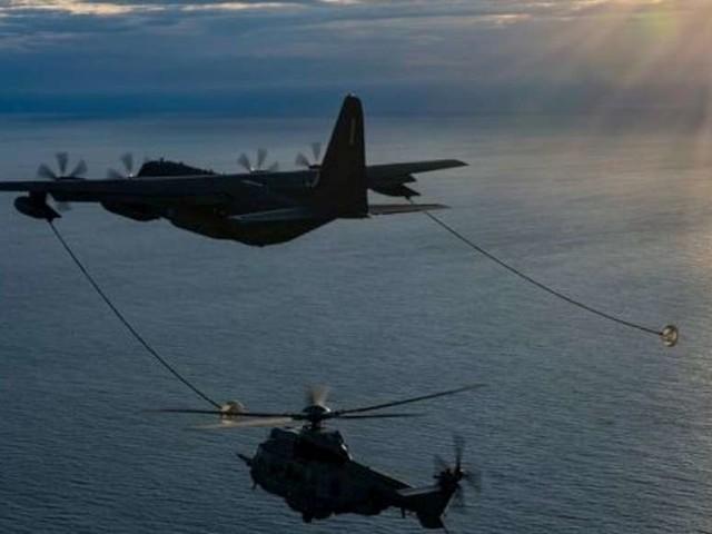 """Bassin d'Arcachon : les images de l'entraînement """"Dark dune"""" avec la BA 120 et l'US Air Force"""