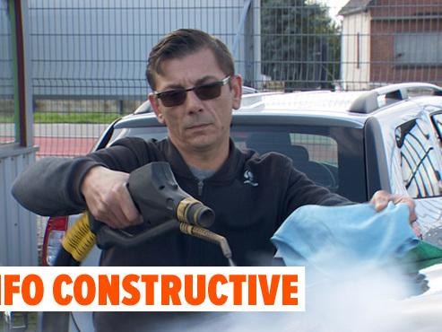Frédéric a OSÉ inventer son propre job VERT: l'ancien plafonneur a lancé sa société de car wash écologique (vidéo)