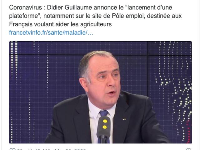 Romain Dureau : «La crise du coronavirus est le grain de sable qui bloque l'agriculture mondialisée»