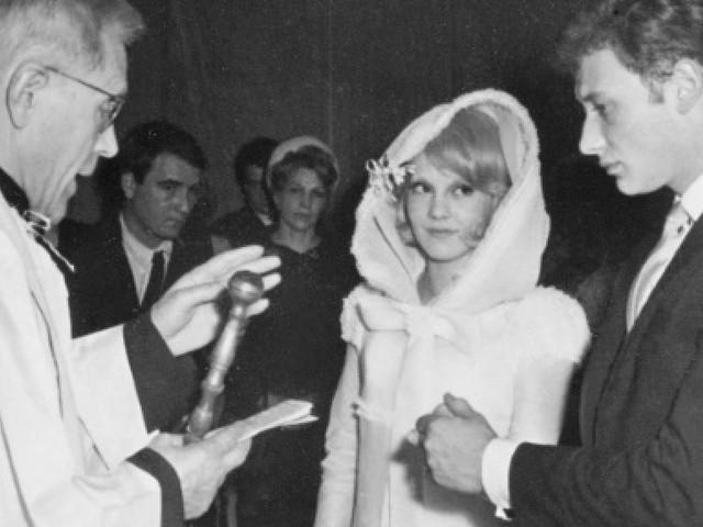 12 avril 1965: le mariage de Johnny et Sylvie raconté par l'AFP