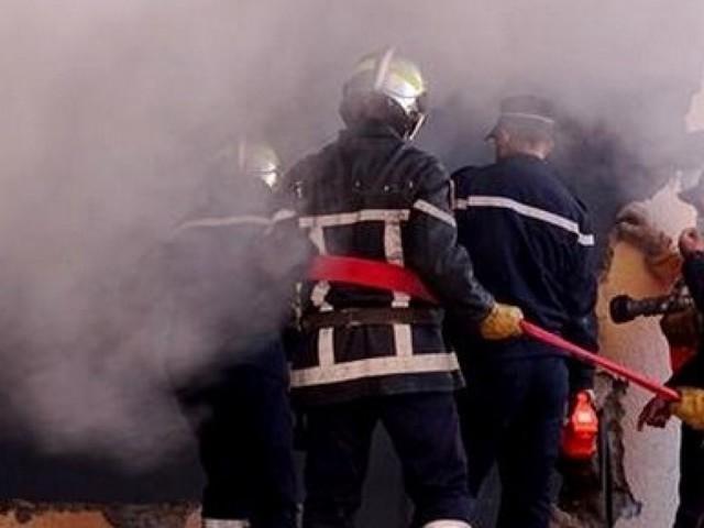 Constantine: un incendie ravage une unité de fabrication de médicament à Benbadis