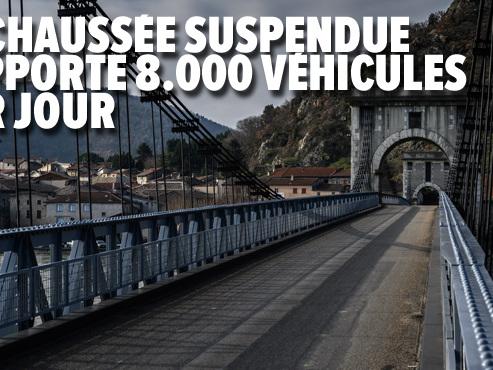 """Entre Drôme et Ardèche, l'un des plus vieux pont de France inquiète les habitants: """"On n'est plus en sécurité"""""""