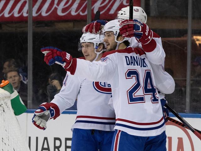 Le Canadien soutire une victoire de 2-1 aux Rangers