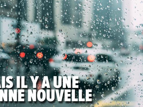 Prévisions météo: la pluie s'installe (et pour un moment...)