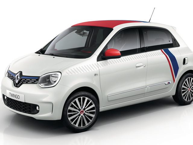 Renault Twingo Le Coq Sportif : série limitée pour la Twingo restylée